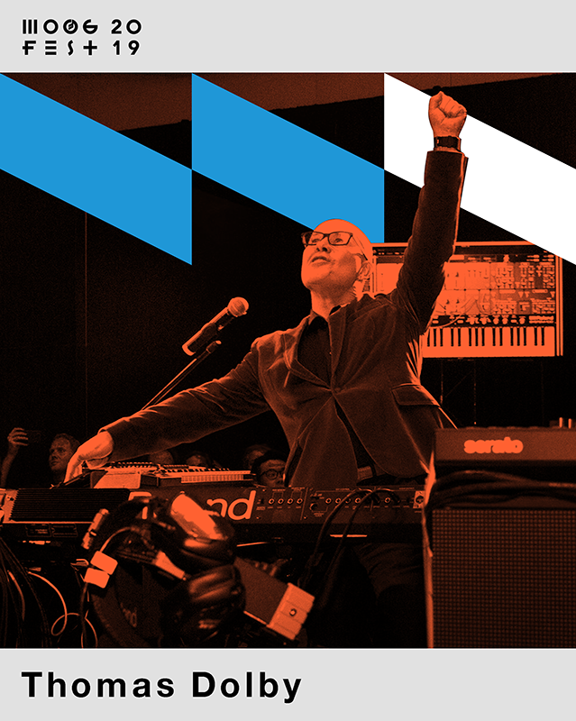 Thomas Dolby at Moogfest 2019